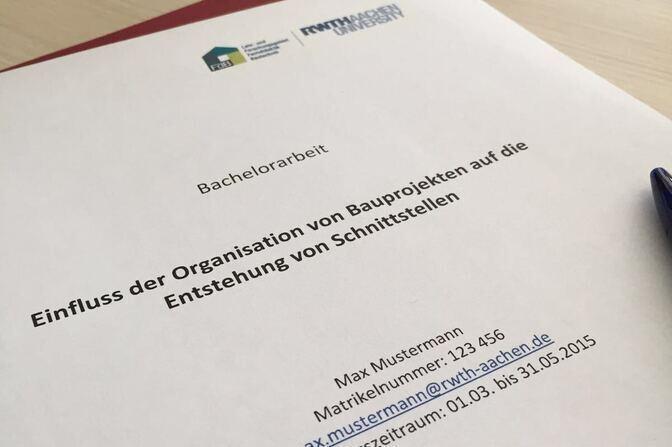 Studium Rwth Aachen University Lehr Und Forschungsgebiet